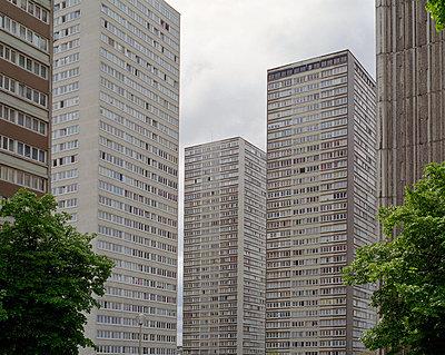 Wohntürme in Paris - p1409m1465833 von margaret dearing