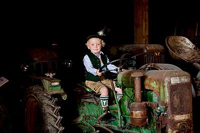 Kindheit auf dem Land - p5330439 von Böhm Monika