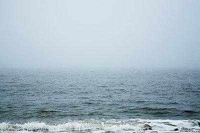 Nebel auf Sylt - p877m908113 von Julia Wagner