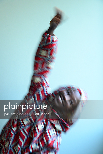 African woman - p427m2285202 by Ralf Mohr