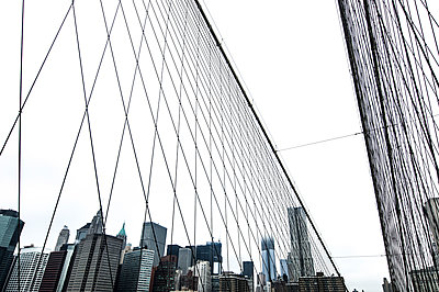 Glass facades in New York - p147m1158951 by Peter Stüber