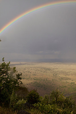 Rainbow in Kenia - p7690015 by Nicolai Froehlich