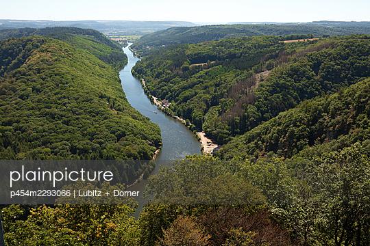 Course of the river Saar - p454m2293066 by Lubitz + Dorner