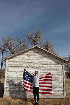Little patriot - p1262m1215965 by Maryanne Gobble