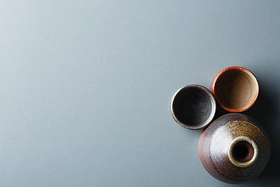Japanese traditional pottery - p307m1106037f by Hideki Yoshihara