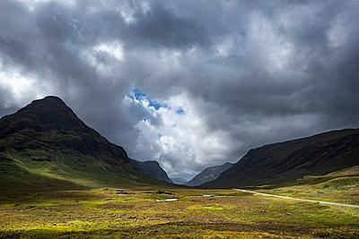 Great Britain, Scotland, Scottish Highlands, Glen Coe - p300m2069502 von Markus Keller