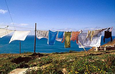 Wäsche trocknen lassen - p2550016 von T. Hoenig
